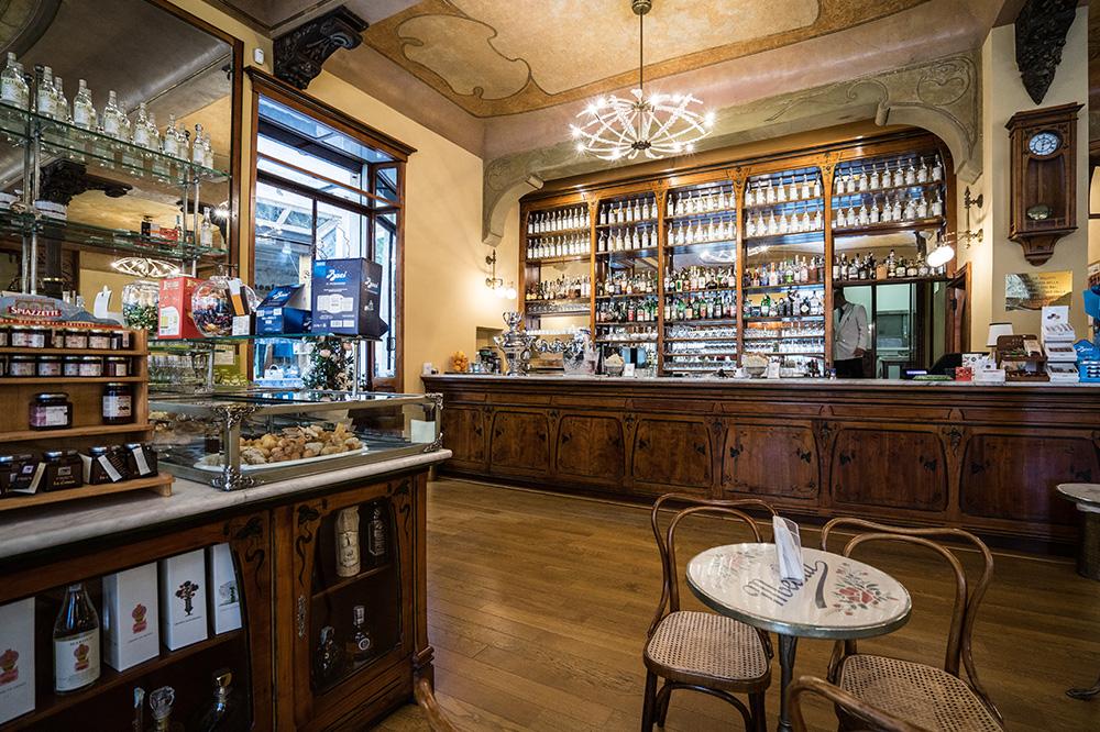 Caffè Meletti Ascoli Piceno - interni1