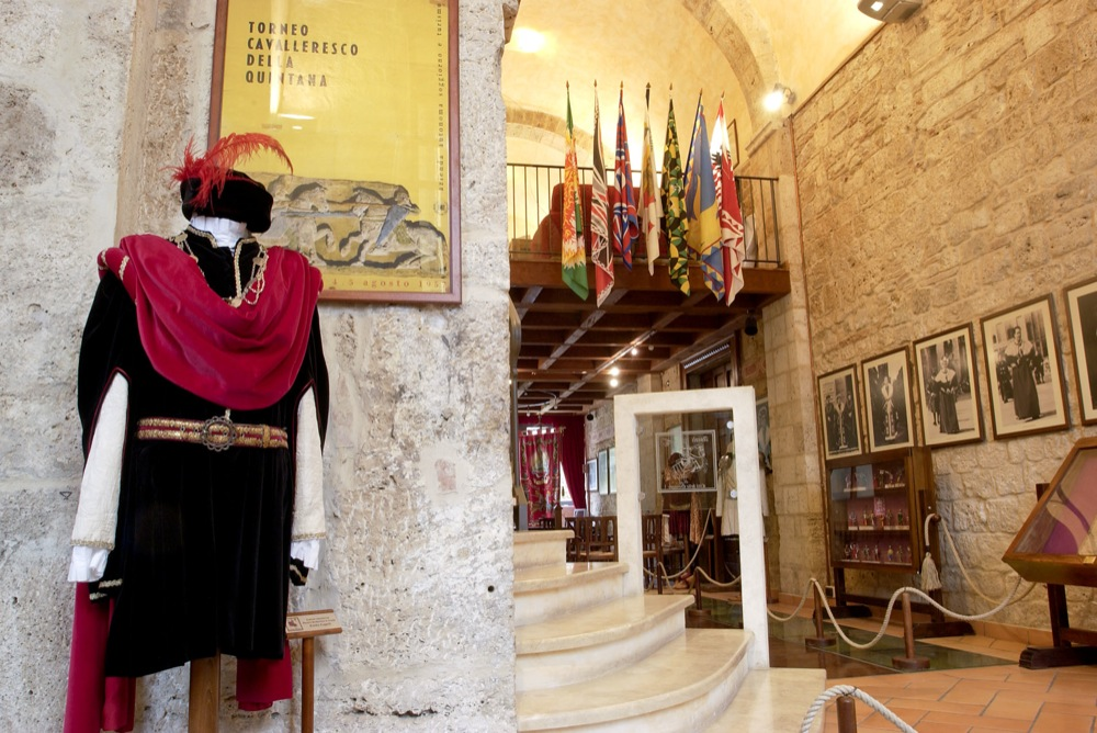 La Quintana di Ascoli Piceno: la sua sede storica
