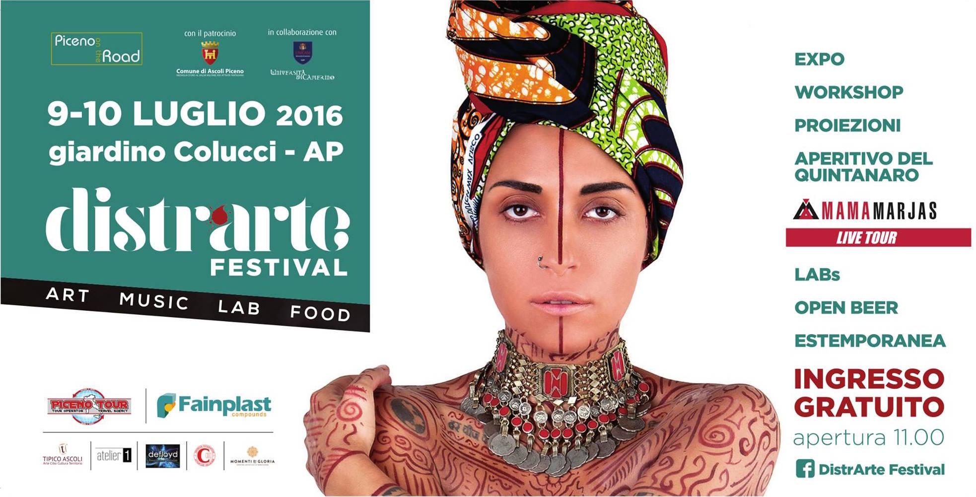 Estate ad Ascoli Piceno: Distrarte Festival per un'esperienza multisensoriale