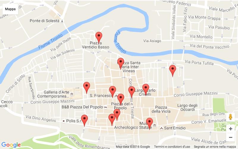 Mappa appuntamenti_Notte bianca 2016_Visit Ascoli