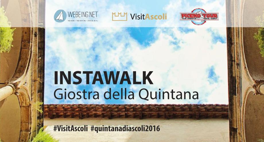 Il primo Instawalk della Giostra della Quintana