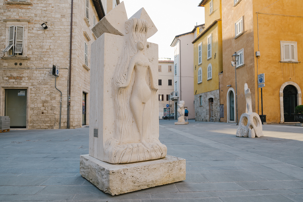 Le forme del travertino ad Ascoli Piceno
