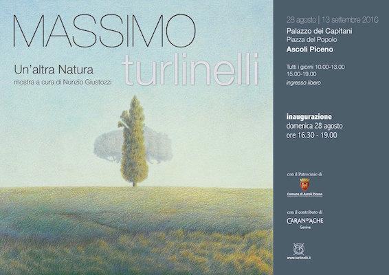 Mostre Ascoli Piceno: Massimo Turlinelli a Palazzo dei Capitani