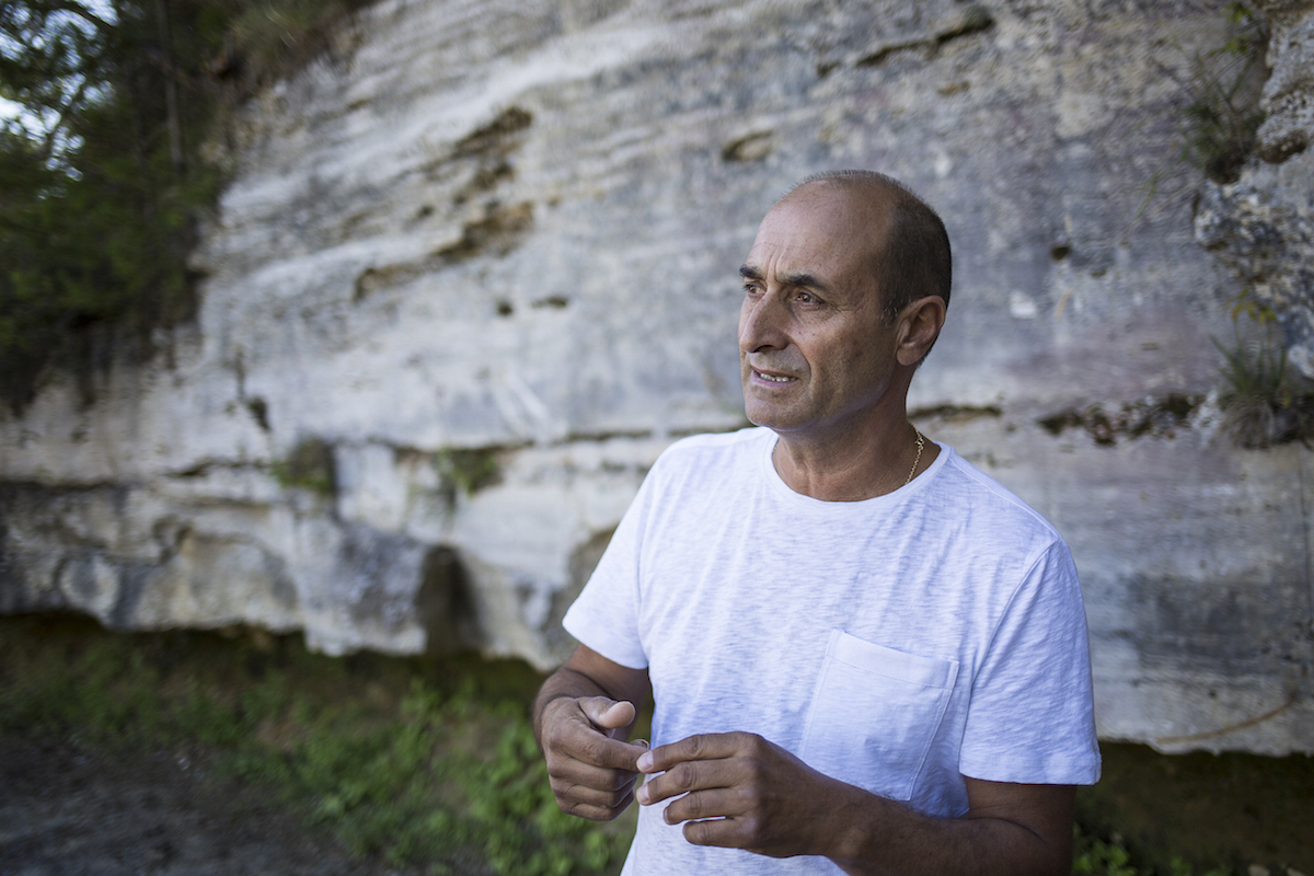 La cava di Giuliano Giuliani: un centro d'arte all'aria aperta