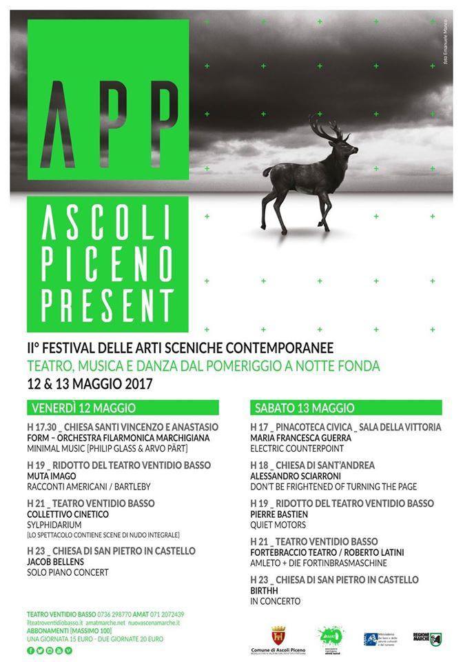 """Eventi ad Ascoli Piceno: il centro storico si fa contemporaneo con """"APP – Ascoli Piceno Present"""""""