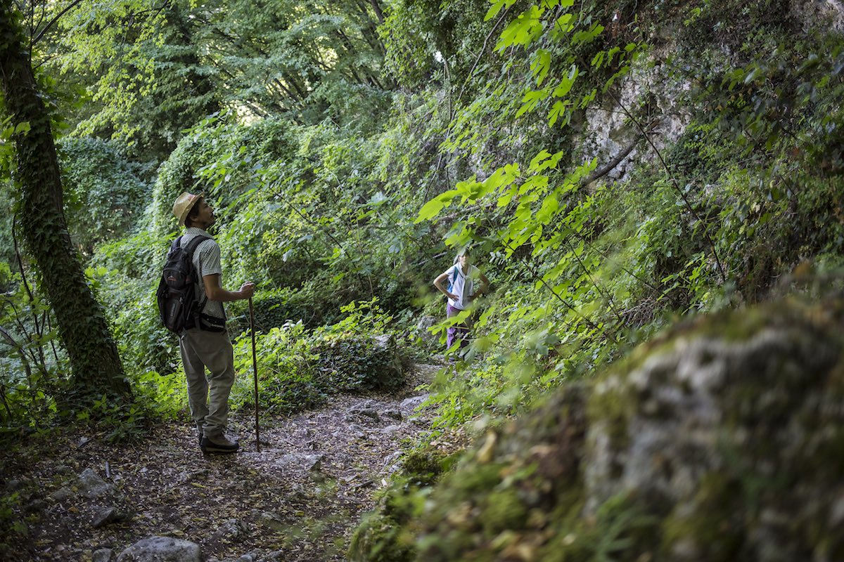 Nei dintorni di Ascoli Piceno un'escursione per le Giornate Nazionali Guida Ambientale Escursionistica