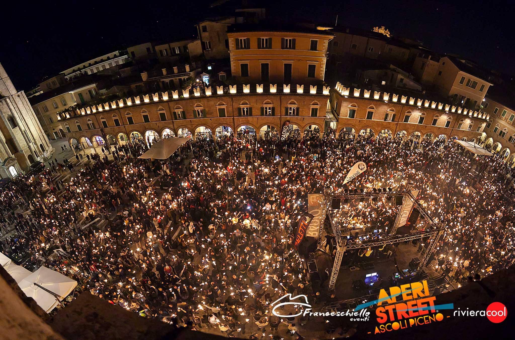 """Ad Ascoli Piceno torna """"Aperistreet"""" con musica, allegria e divertimento"""