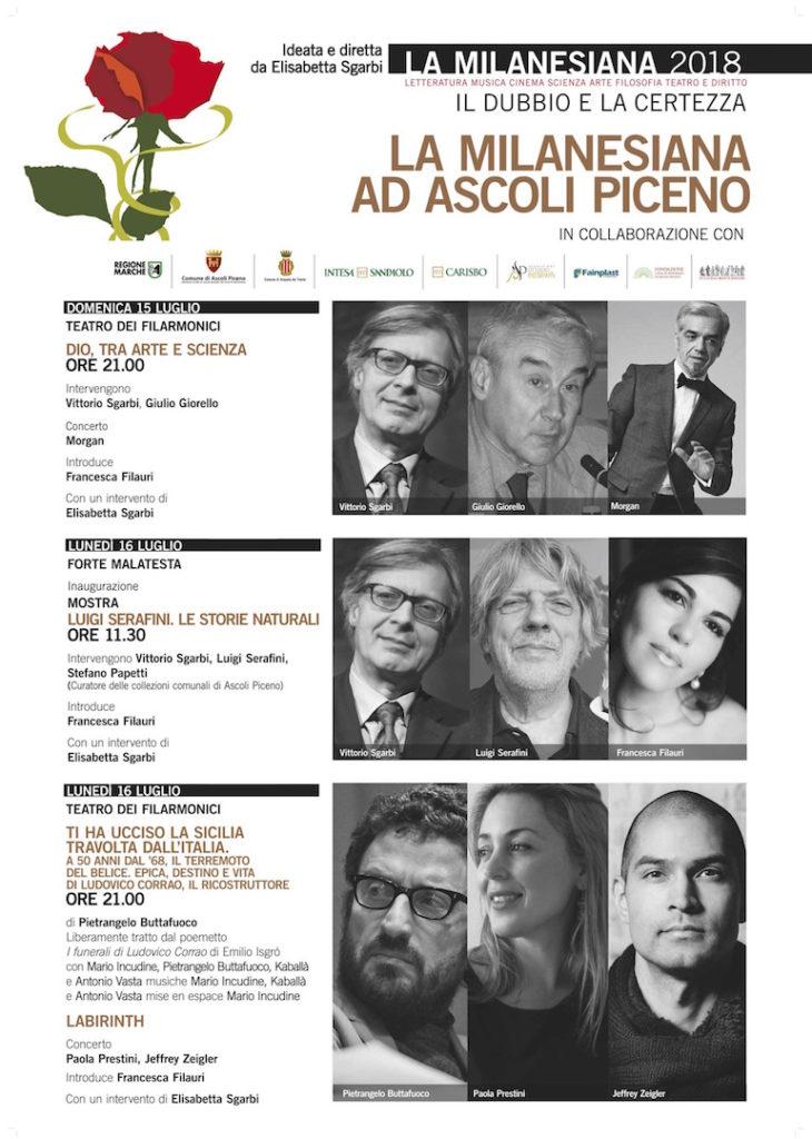 La Milanesiana ad Ascoli Piceno