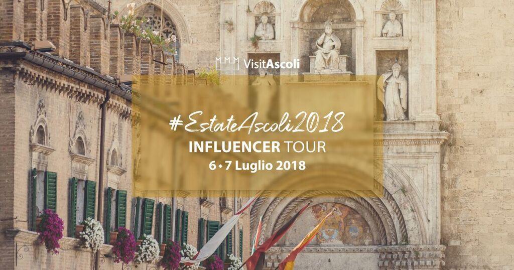 #EstateAscoli2018, parte l'influencer tour per la valorizzazione di Ascoli Piceno